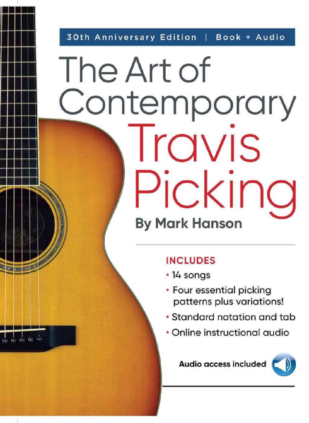 The Art of Contemporary Travis Picking (Book/Online Audio)